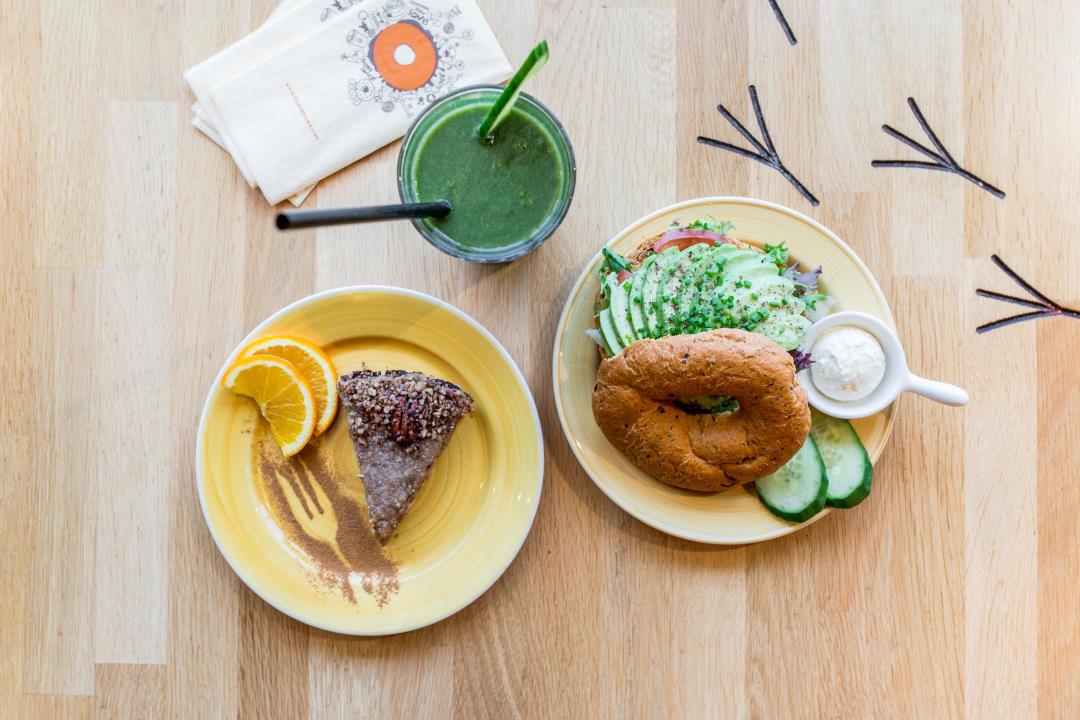 Vega(n) menu met pecan pie