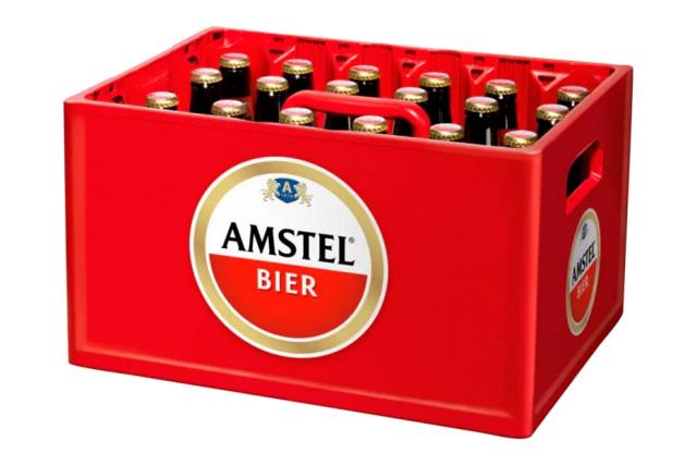 Kratje Amstel Bier, 24 flesjes