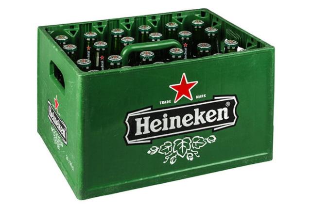 Kratje Heineken, 24 flesjes