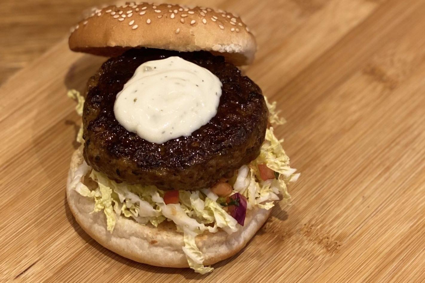 Mediterraanse burger
