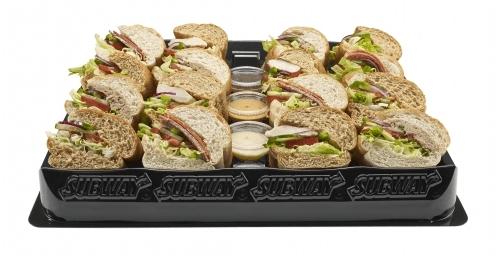 Subway low fat platter