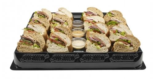 Subway meat feast platter