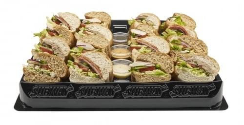 Subway vega platter