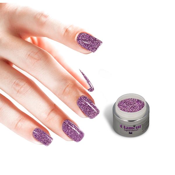 Glittergel UV / LED Pink